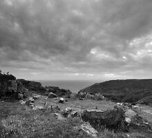 Ancient Burial Site - photograph by Paul Davenport