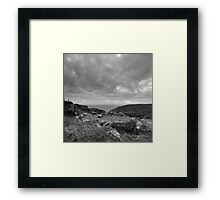 Ancient Burial Site - photograph Framed Print