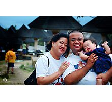 Family Day Photographic Print
