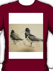 Pair of Pied Oystercatchers, Shoalhaven, NSW T-Shirt