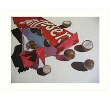 Chocolate Tease Art Print