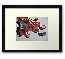 Chocolate Tease Framed Print