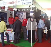 bizporto booth at Global Maharashtra Conference and Trade Fair by bizporto