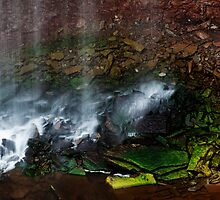 Waterfall Detail: Indian Falls by Skye Hohmann