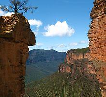 Between the Cliffs by Michael John