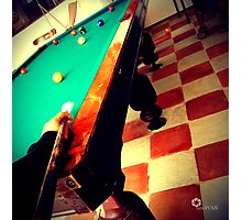 Billiards Photographic Print