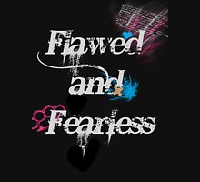 FlawedandFearless2 TM Womens Fitted T-Shirt