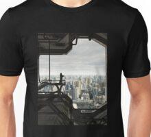 Guarding the Future City Unisex T-Shirt
