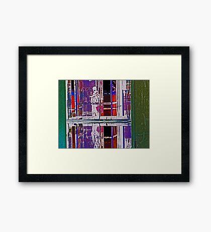 Alternate Reality 24 Framed Print