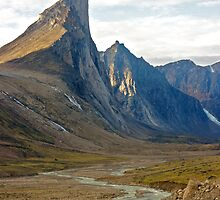 Thor Peak - Auyuittuq National Park by Phil McComiskey
