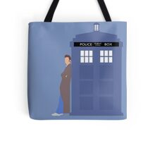 Doctor Who 10th Doctor Tote Bag