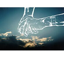 your hand in mine Photographic Print