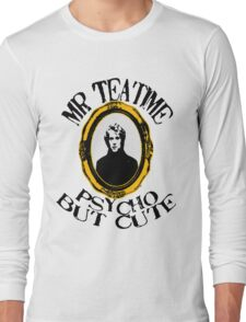 Mr Teatime Portrait Long Sleeve T-Shirt