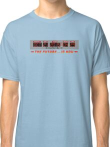 Back to the Future 2 - The Future is Now - Time Circuits 2015 Classic T-Shirt
