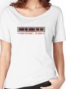 Back to the Future 2 - The Future is Now - Time Circuits 2015 Women's Relaxed Fit T-Shirt