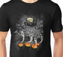 Ghosts Of Halloween Unisex T-Shirt