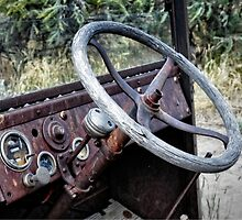 Bannack Ghost Town - Turn The Wheel by IMAGETAKERS