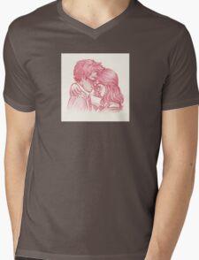 James and Lily Mens V-Neck T-Shirt
