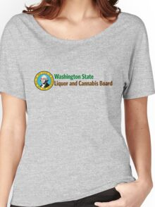 Washington State Liquor and Cannabis Board Women's Relaxed Fit T-Shirt