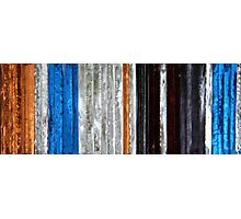 coloured glass 2 Photographic Print