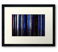 coloured glass 3 Framed Print