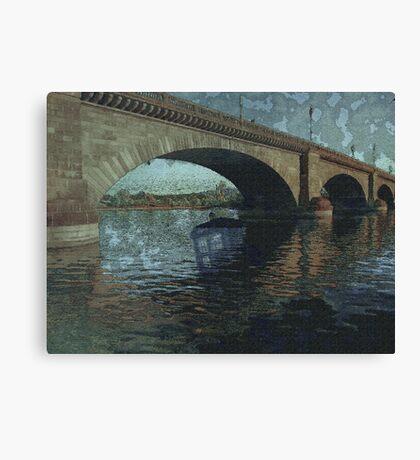 Underwater Timey Wimey Canvas Print