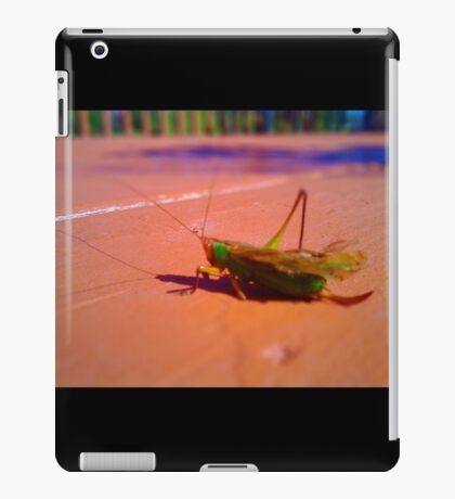 Grasshopper Looks Like a Jewel iPad Case/Skin