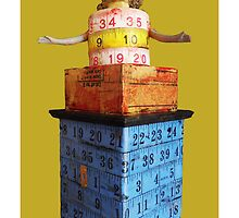 measuring tower, 2010 by Thelma Van Rensburg