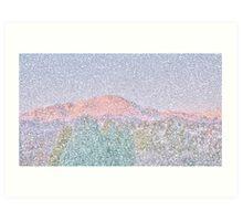 Purple Mountain Magesties Art Print
