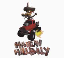Wierd Wheels Haulin Hill Billy by mdkgraphics