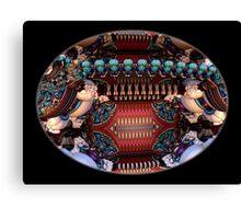Extraterrestrial Football Stadium Canvas Print