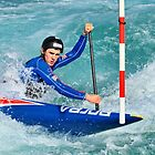 Canoe Slalom by Lea Valley Photographic