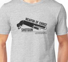'Weapon of Choice - Shotgun' Unisex T-Shirt
