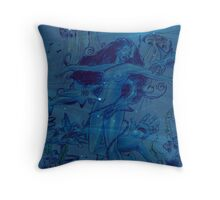 Innocent Prey in the Mitts of Lust  Throw Pillow