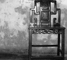 Garden Chair - Suzhou, China by NancyLewis