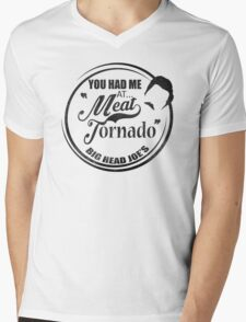 Ron swanson , Meat tornado Mens V-Neck T-Shirt