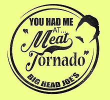 Ron swanson , Meat tornado by kurticide