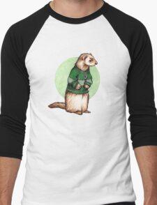 Little Slytherin Ferret Draco Malfoy Men's Baseball ¾ T-Shirt