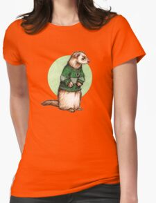 Little Slytherin Ferret Draco Malfoy Womens Fitted T-Shirt