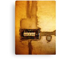 Fuse Box - Shanghai, China Canvas Print