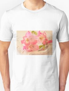 Gladiolas In Pink T-Shirt