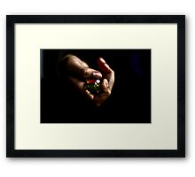 Child game Framed Print