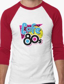 Cafe 80s Men's Baseball ¾ T-Shirt