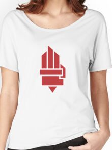 The Hunger Games - Hand (Red Version) Women's Relaxed Fit T-Shirt