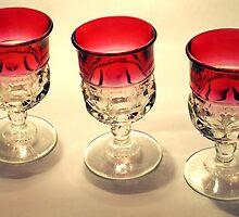 Tre Glasses by glennc70000