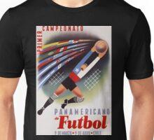 Futbol championships, vintage sport poster Unisex T-Shirt