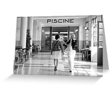 Entrance Greeting Card