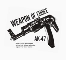 'Weapon of Choice - AK47' by Loftworks