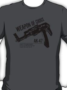 'Weapon of Choice - AK47' T-Shirt
