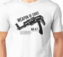 'Weapon of Choice - AK47' Unisex T-Shirt
